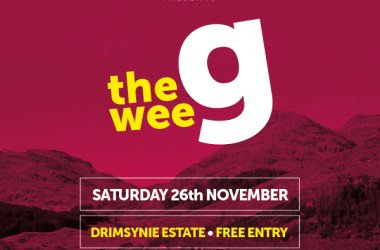 The Wee G comes to Drimsynie Estate