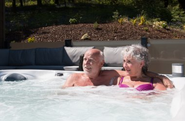 Hot Tub Lodges in scotland Benefits - Improve overall health