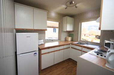 Rowan Comfort Plus Lodge - Kitchen