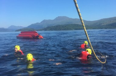 Banana Boats on Loch Lomond