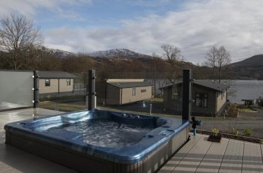 Dog-Friendly Lodge Stay at Loch Lomond