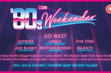 6 Reasons to head along to our 80's Weekender