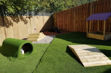 Argyll Holidays funds new Scottish SPCA Sensory Garden