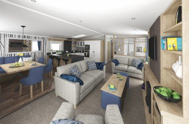 New Platinum Lodges arrive at Hunters Quay