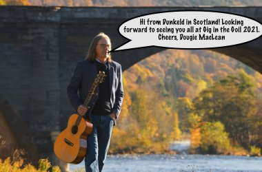 Dougie Maclean is heading to Drimsynie Estate