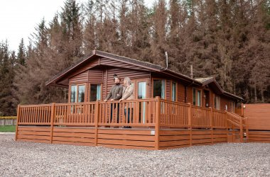Enjoy a luxury lodge escape